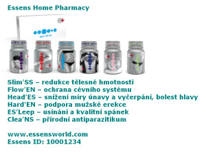 6 Produkts Essens Home Pharmacy