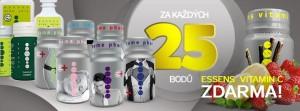 každých 25 bpdů vitaminc zdarma